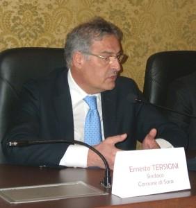 sindaco Ernesto Tersigni