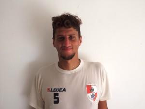 Il difensore centrale Luca Cassese bis