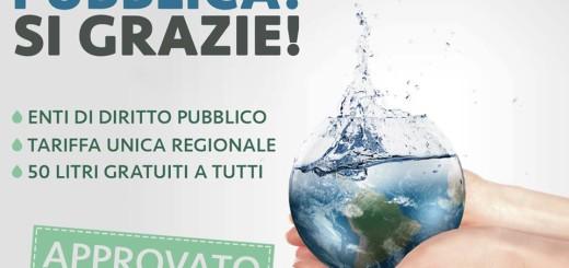 Petizione acqua Movimento 5 stelle