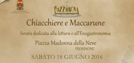 CHIACCHIERE E MACCARUNE IMMAGINE