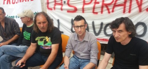 Paolo Ceccano e prestatori d'opera senza lavoro
