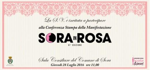 Sora in Rosa VI edizione