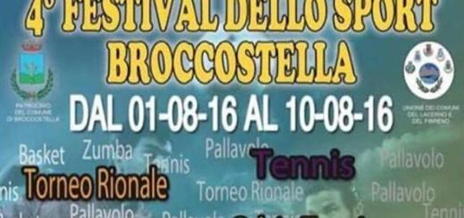 IV FESTIVAL DELLO SPORT BROCCOSTELLA IMMAGINE 1