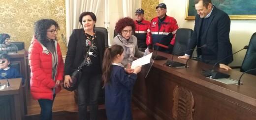 Bambina vs Sindaco De Donatis