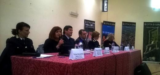Tavolo relatori giornata contro il bullismo 3