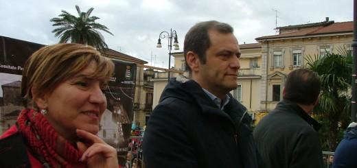 Sindaco De Donatis assiste alla sfilata dei carri immagine 99
