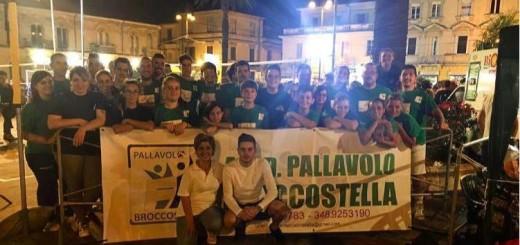 gruppo torneo di pallavolo Broccostella