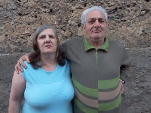 Da sx Renata e Gilberto Di Pucchio