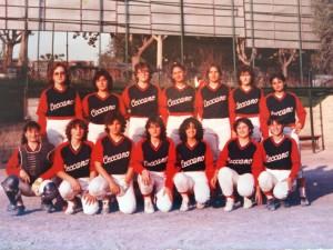 Basebal feminile Serie B anni 80