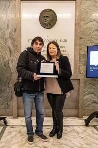 Loreteo Ricci ritira il premio immagine 5