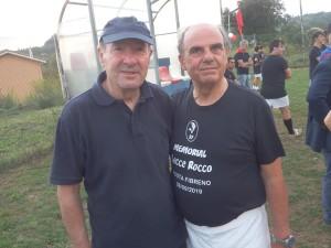 Mister Martini e l'ex giocatore e presidente Pasquale Ferrera immagine 8