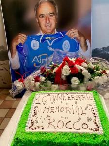 Omaggio floreale mister Rocco Lecce immagine 3