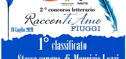 Attestato del vincitore Maurizio Lozzi
