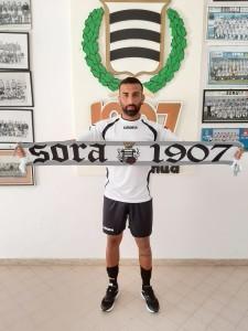 Il centrocampista Giovanni Liberti