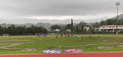 Vis Sezze vs Sora calcio 1907 campo allentato