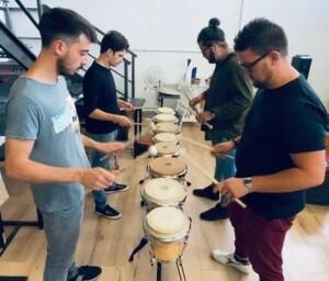 Kvadrat percussionisti immagine 5