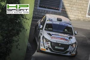 Christopher Lucchesi pilota rally Peugeot 208