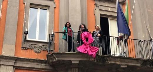 Fiocco Rosa Iniziativa Donne tre testimonial